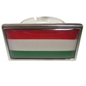 Hungary Flag Fashion Ring
